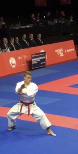 Dimitrije Ristić // Karate1 – Serija A Santiago (Čile) 2019